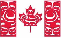 campbell river first nations canada flag
