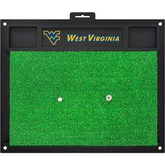 West Virginia Golf Hitting Mat, 20 inch x 17 inch, Multicolor