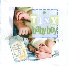 scrapbooking for babies