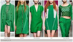 Shamrock one of Our Top Runway Fashion Colours For Spring Summer 2015