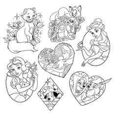 Wolf Tattoos, Fox Tattoo, Cute Tattoos, Body Art Tattoos, Tattoo Drawings, Tatoos, Disney Coloring Pages, Colouring Pages, Coloring Books