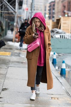 estilo de la calle: Nueva York Otoño / Invierno 2017-2018 Semana de la moda 110