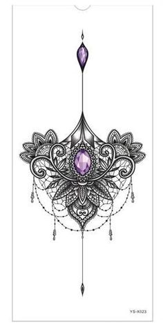 Breast or sternum tattoo - Diy Best Tattoo - Tattoo Designs For Women Sleeve Tattoos For Women, Tattoos For Women Small, Small Tattoos, Tattoo For Women On Thigh, Women Chest Tattoos, Calf Tattoos For Women Back Of, Back Of Thigh Tattoo, Tattoo Designs, Mandala Tattoo Design