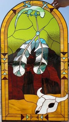 native american stained glass windows - Google Search