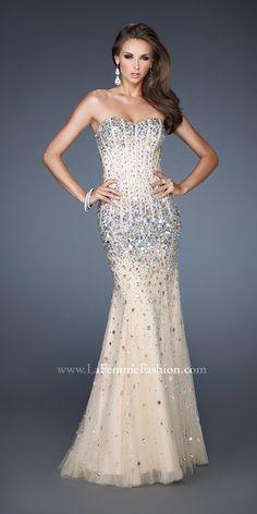 La Femme 18873 Dress- beautiful pageant gown!!!