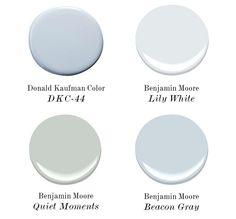 Interior Design Ideas: Coastal color palettes...
