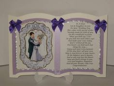 Boxed Son and Daughter-in-law Wedding Keepsake Card