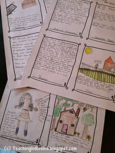 Teaching in Room 6: Culminating Response to Literature Ideas