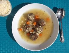 Homemade soup is easy to make and it's good for you too.  Try this simple recipe for Italian Wedding Soup...