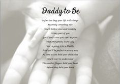 daddy to be poems - Google Search