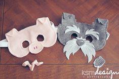 Animal Masks for Kids {tutorial} ‹ KSM DESIGN + PHOTOGRAPHY