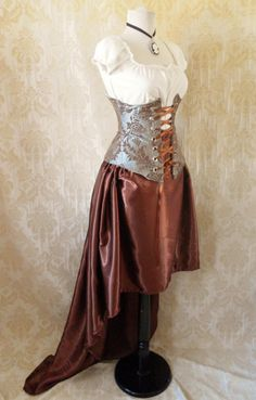 Steampunk... would be an awesome costume!
