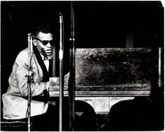 Ray Charles in concert (early 1960s). Photo by Robert (Bob) Parent.