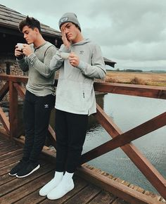 The Dolan twins in Buenos Aires, Argentina
