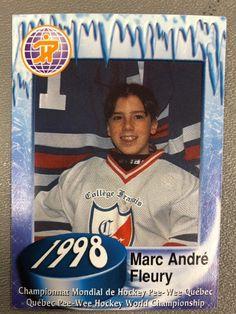 Marc-Andre Fleury in Pee-Wee Hockey �� Hockey Goalie, Field Hockey, Hockey Teams, Hockey Players, Ice Hockey, Hockey Stuff, Pittsburgh Sports, Pittsburgh Penguins Hockey, Pittsburgh Pirates