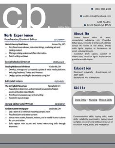 my resume design that is professional and bold in gray and navy blue buy - Event Planner Resume