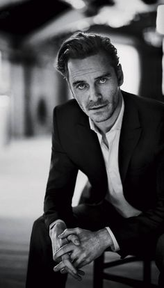 { Michael Fassbender for Vogue }