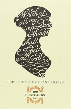 From the Desk of Jane Austen: 100 Postcards: Potter Style: 9780770436698: Amazon.com: Books