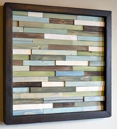 Soothing colors in this wood sculpture. Might look good as a head board too in a rustic room?!?!