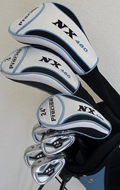 """Womens Petite Golf Set Custom Fit For Ladies 5'0"""" to 5'5"""" Tall Complete Driver, Fairway Wood, Irons, Sand Wedge, Putter, Stand Bag Ladies Graphite Shafts Right Handed"""