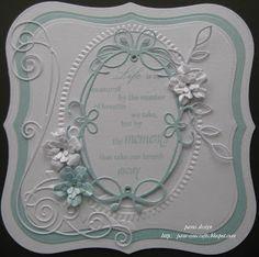 Memory Box Die Tutorials | pamscrafts: new memory box Tiffany Frame