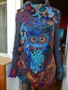 Photo from album Crochet Lace Scarf, Crochet Skirts, Freeform Crochet, Crochet Poncho, Irish Crochet, Crochet Yarn, Crochet Clothes, Crochet Flowers, Crotchet Patterns