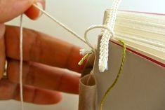 Bookbinding Tutorial: How to make Headbands