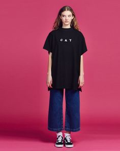 Lazy Oaf Cat T-shirt