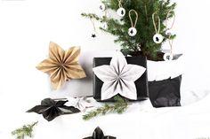 Cuchikind - Der Mama-DIY-Blog: Geschenkidee #16: Lovedecorations - Weihnachtssterne aus Papier