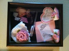 Shadow box...love the idea for just about anything