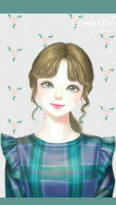 Cute Cartoon Girl, Anime Girl Cute, Beautiful Anime Girl, Anime Art Girl, Girl Hair Drawing, Cute Girl Drawing, Disney Princess Pictures, Disney Princess Art, Girly Drawings