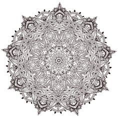 Free Mandalas page «Very-detailled-mandala-by-Anvino». Very detailled Mandala by Anvino