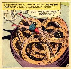 Eating won't fill the void inside you, Diana. Just call Trevor already.