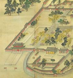 Korean_art-Donggwoldo_detail-Changdeokgung-Donhwamun_and_its_vicinity-01.jpg…
