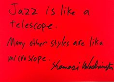 """865 Likes, 26 Comments - Hans Ulrich Obrist (@hansulrichobrist) on Instagram: """"Kamasi Washington Jazz is like a telescope. Many other styles are like a microscope.…"""""""