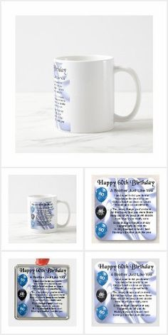 Brother Poems, Gifts For Brother, 70th Birthday, Happy Birthday, Detail Shop, Holiday Photos, Business Supplies, Mugs, Happy Brithday