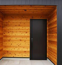 House Wall, House Colors, Front Porch, Facade, House Plans, Garage Doors, Exterior, Interior Design, Outdoor Decor