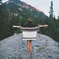 She's a wanderer.