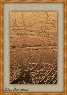 "Saatchi Art Artist SILVANA MATTI IBRAHIM; New Media, ""Golden Nature"" #art"