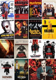 The filmography of Quentin Tarantino