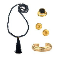 Go boho chic with Satya Jewelry.