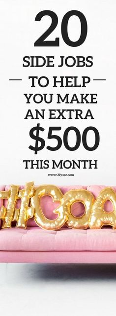 20 Creative Side Hustles That Can Help You Make an Extra $500 or More This Month