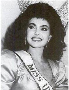 MISS UNIVERSE 1986 Barbara Palacios Teyde (Venezuela)