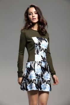 переделка свитера в платье
