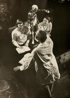 Athena yearbook, 1955. A medical model in a lab. :: Ohio University Archives