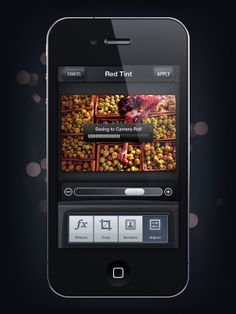 Camera Genius App Interface by Artua , via Behance