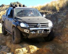 Channel your inner Amarok you got this! Vw Pickup Truck, 4x4, Touareg, Vw Amarok, Offroader, Quad Bike, Suv Cars, Roll Cage, Cars And Motorcycles