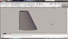 Cadgue: Menggambar Reducer Excentric 3D dengan Autocad