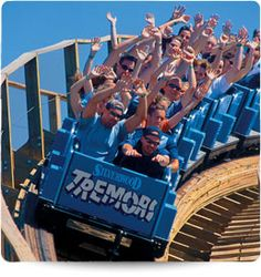 Silverwood: Tremors Roller Coaster - Since Tremors' opening in 1999, it has been one of the top rated wood coasters in the country.