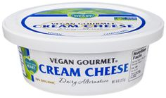 Vegan Cream Cheese from Follow Your Heart. Follow our family's food allergy story at www.foodallergyninja.com